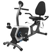 ISE Cyclette Recumbent Magnetico con Sella Regolabile,Ergometro,Sensori di Pulsazione Integrati,Schermo LCD,Regolabile Resistenza per Allenamento di Recupero,Max.120 kg,Supersilenzioso,SY-6801