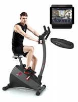 Sportstech Vincitore del Test ESX500 Ergometro Cyclette con Controllo Via App – Inerzia 12 kg -Compatibile con Cintura pulsazioni –Sistema di Trasmissione a Cinghia Poco Rumoroso